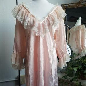 2 for $20 SALE Vintage pink frock nightie